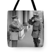 Ruth & Pershing, 1924 Tote Bag