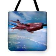 Ryan Bqm-34 Firebee Target Drone Missile Tote Bag