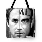 Ryan Gosling And George Clooney Tote Bag