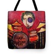 Ryan Macmillan And His Drums Tote Bag