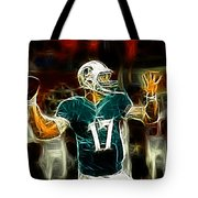 Ryan Tannehill - Miami Dolphin Quarterback Tote Bag