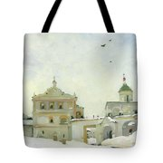 Ryazan Kremlin In Winter Tote Bag