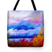 Rythmn Of The Arctic Tote Bag