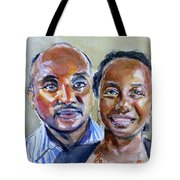 S And D Tote Bag