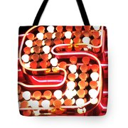 S In Lights Tote Bag