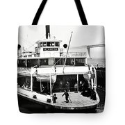 S. P. Ferry Alameda At San Francisco Circa 1940 Tote Bag