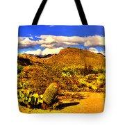 Sabino Canyon Panorama No. 1 Tote Bag