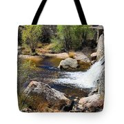 Sabino Creek Falls Tote Bag
