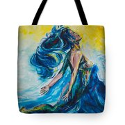 Sabrae's Transformation Tryptic I Tote Bag