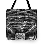 Sachs Bridge - Gettysburg - Bw-hdr Tote Bag