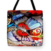 Sackettdoodles Butterfly Tote Bag