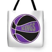 Sacramento Kings Retro Shirt Tote Bag