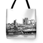 Sacramento Skyline N. Tote Bag