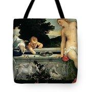 Sacred And Profane Love Tote Bag