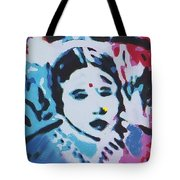 Sacred-beads Meditation Tote Bag