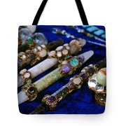 Sacred Gemstones Energy Amulets Crystal Balls Magic Wands Tote Bag