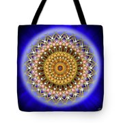 Sacred Geometry 187 Tote Bag