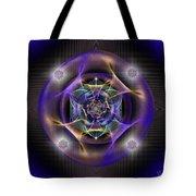 Sacred Geometry 554 Tote Bag