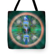 Sacred Geometry 648 Tote Bag