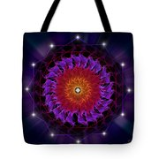 Sacred Geometry 81 Tote Bag