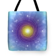 Sacred Geometry 84 Tote Bag