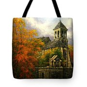 Sacred Heart Chapel Paris Tote Bag