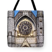 Sacred Heart Church Detail Roscommon Ireland Tote Bag