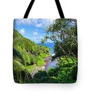 Sacred Pools Ohe'o Tote Bag