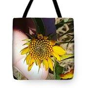 Sacred Sunflower Tote Bag