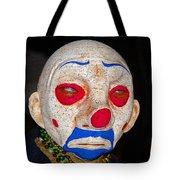 Sad Clown Tote Bag