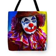Sad Clown Tote Bag