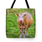 Sad Cow - Painterly Tote Bag