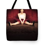 Sad Dancer Tote Bag