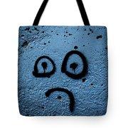 Sad Graffiti Tote Bag