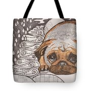 Sad Pup Tote Bag