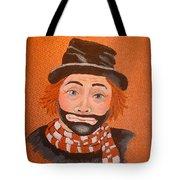 Sad Sack The Clown Tote Bag