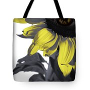 Sad Sunflower Tote Bag