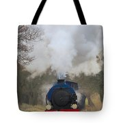 Saddle-tank Locomotive Tote Bag