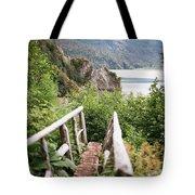 Saddle Trail Bridge Tote Bag