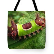 Saddleback Caterpillar Tote Bag
