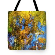 Safari Mosaic Abstract Art Tote Bag