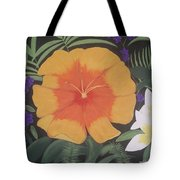 Safari Orange Tote Bag by Melanie Blankenship