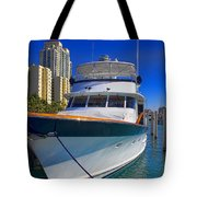 Yacht - Safe Harbor Series 39 Tote Bag