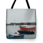 Safe Harbour On A Murky Day Tote Bag