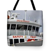 Safety Bell Tote Bag