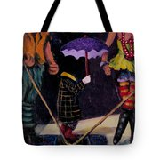 Safety Net Without Strings Tote Bag