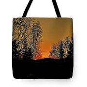 Saffron Sunset Tote Bag