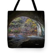 Sagamore Creek Tunnel Exit Interior Tote Bag