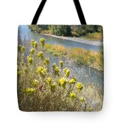 Sage Along The River Tote Bag