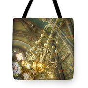 Sage Chapel Ceiling And Light Tote Bag
